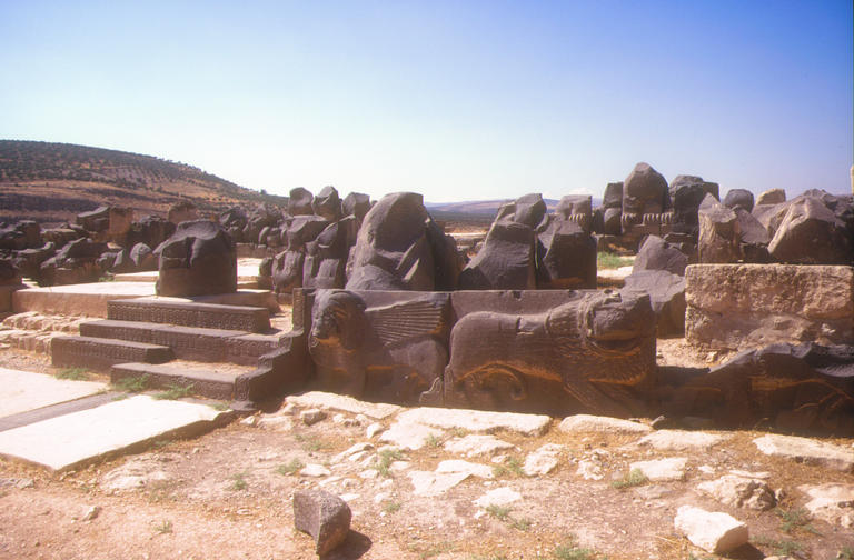 Ain Dara: Hittite temple dedicated to the goddess Ishtar, dating from ...